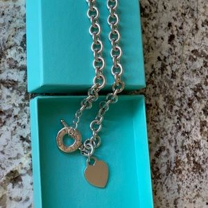 Tiffany clasp necklace